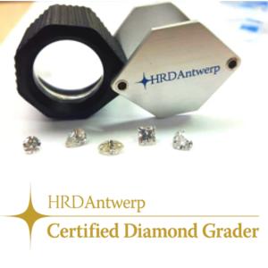 Certyfikowany ekspert diamentów HRD Antwerp