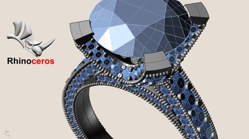 Projektowanie Biżuterii w programie 3D