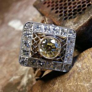 Ocena diamentów w oprawie